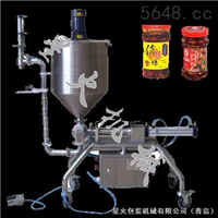顆粒漿狀灌裝機-食品-日化